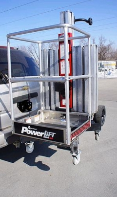 Where to rent MANLIFT, PERSONNEL 20  INSIDE W DOLLY in Omaha NE
