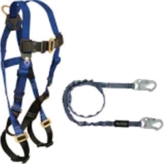 Rental store for BODY HARNESS   2 LANYARDS in Omaha NE