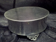 Rental store for HAMMERED 14  RD  CONCAVE  CAKE STAND in Omaha NE