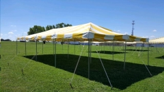 Where to rent CANOPY, 20X40 YELLOW   WHITE in Omaha NE