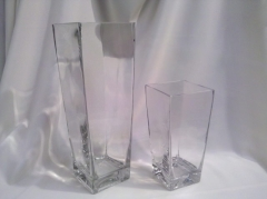 Where to rent TAPERED SQUARE 15.75  VASE in Omaha NE