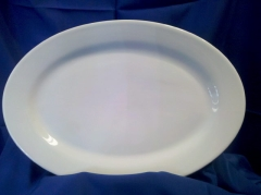 Where to rent PLATTER, PORCELAIN OVAL - LG in Omaha NE