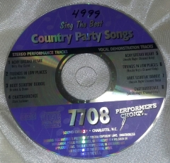 Rental store for COUNTRY PARTY SONGS in Omaha NE