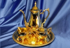 Where to rent COFFEE SERVICE, 4-PC GOLD in Omaha NE