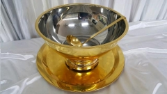Rental store for PUNCH BOWL, GOLD 3PC SET in Omaha NE
