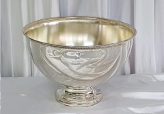 Where to rent SILVER 5 GALLON PUNCH BOWL  Beaded in Omaha NE