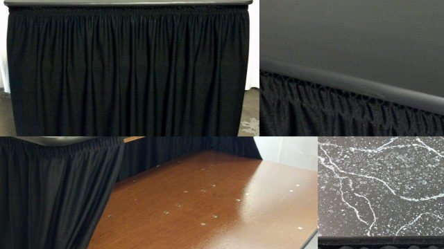 Where to find BAR, 4 FT BLACK SKIRTED in Omaha