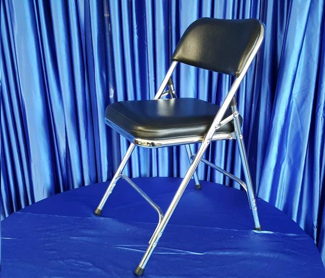 Chair Black Padded Rentals Omaha Ne Where To Rent Chair
