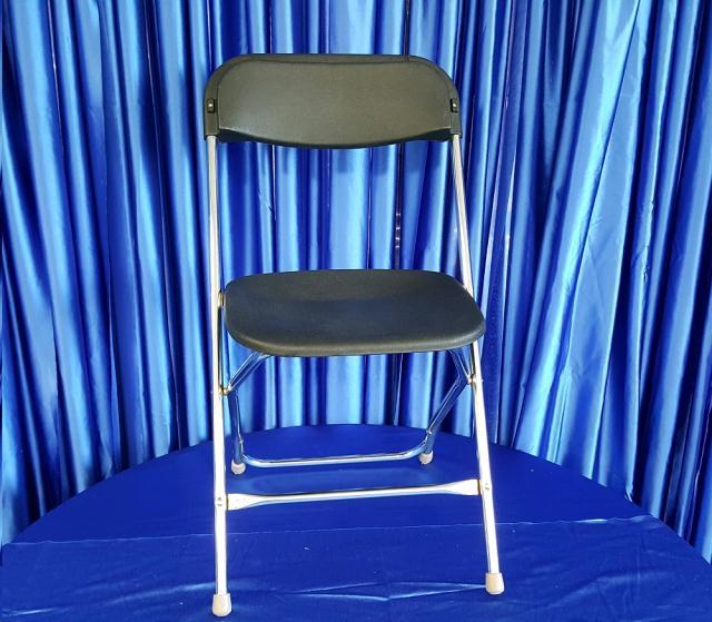Chair Black Chrome Leg Rentals Omaha Ne Where To Rent