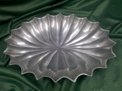 Where to rent TRAY, PEWTER FINNED SHELL in Omaha NE