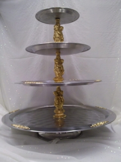 Where to rent TRAY, STATUE SILV GOLD 25 in Omaha NE