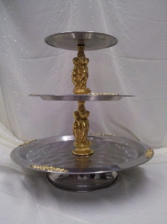 Where to rent TRAY, STATUE SILV GOLD 20 in Omaha NE