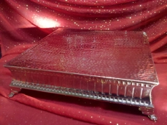 Rental store for HAMMERED NICKEL 18 X18  RIBBED CAKE in Omaha NE