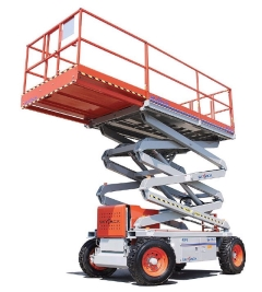Rental store for SCISSOR LIFT, OUTDOOR 27 Ft  RT in Omaha NE