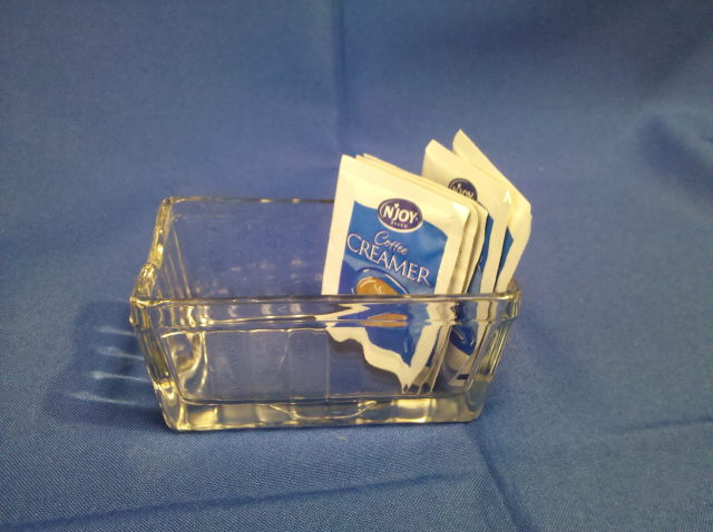 Where to find SUGAR PACKET HOLDER  GLASS in Omaha
