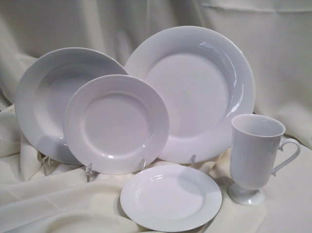Where to find ALL  PLAIN WHITE CHINA in Omaha