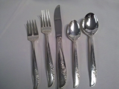 Where to rent SILVER LILAC FLATWARE in Omaha NE