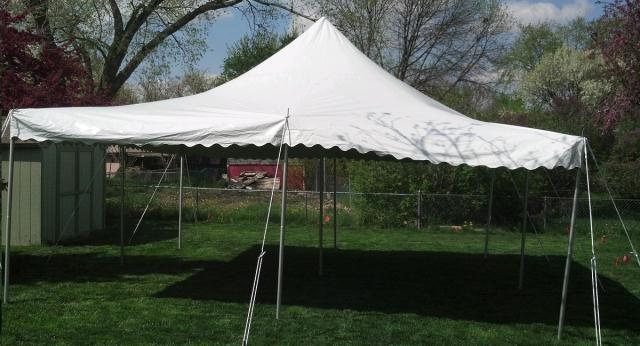 Canopy White E 20x20 Rentals Omaha Ne Where To Rent