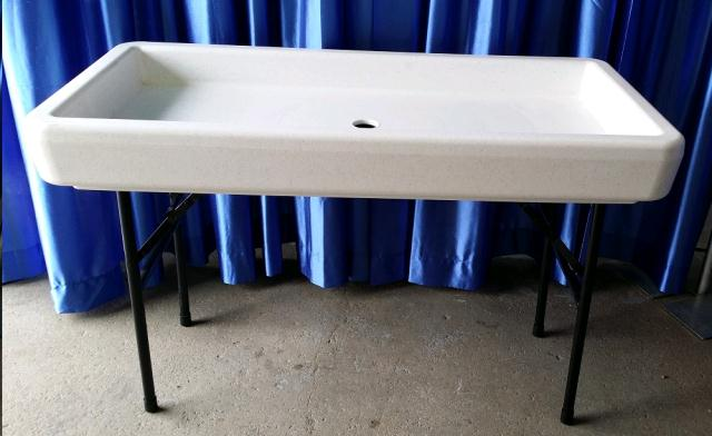 Where to find CHILL TABLE - WHITE 4 Ft  Mini in Omaha