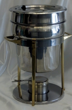 Rental store for TUREEN, SOUP 8 QT BRASS SMOOTH in Omaha NE