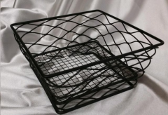 Where to rent WIRE SQU BREAD BASKET-BLACK in Omaha NE