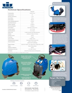 Where to rent FLOOR SCRUBBER  STAND ON  BATTERY 20 in Omaha NE