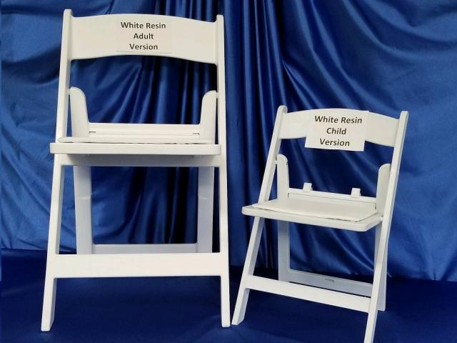 Chair Childs White Resin Rentals Omaha Ne Where To Rent