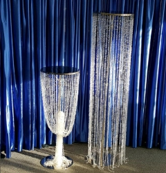 Rental store for CRYSTAL GEMS COLUMN, 66   Chrome in Omaha NE