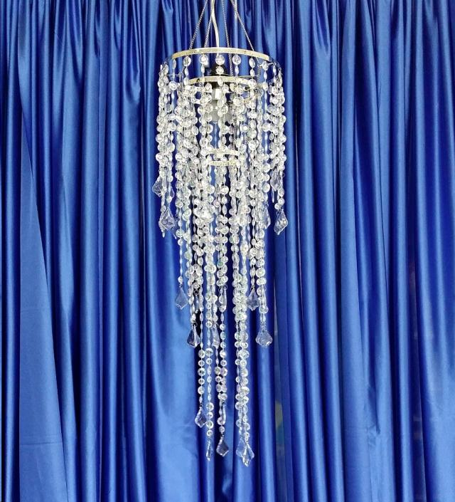 Where to find BEADED CHANDELIER  10  x 3 Ft in Omaha