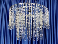Rental store for BEADED CHANDELIER  24  x 18 in Omaha NE