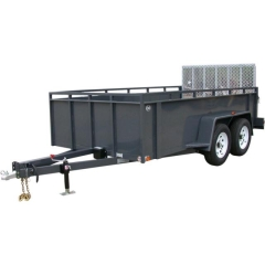 Where to rent TRAILER, DBL-AX 6X12 OPEN in Omaha NE