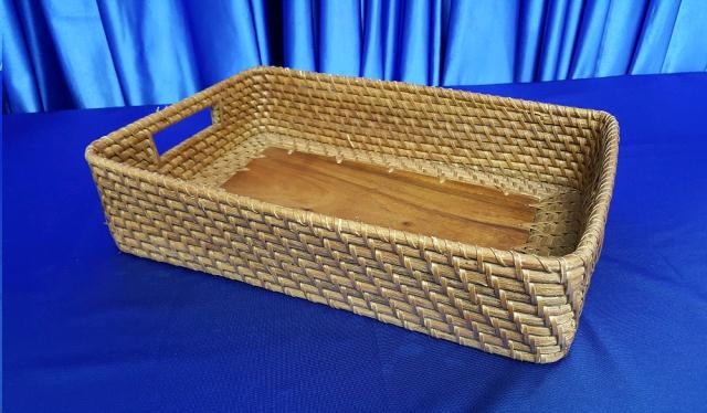 Where to find BASKET, WOOD WOVEN - Lg in Omaha