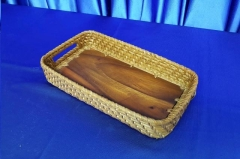 Where to rent BASKET, WOOD WOVEN - Sm in Omaha NE