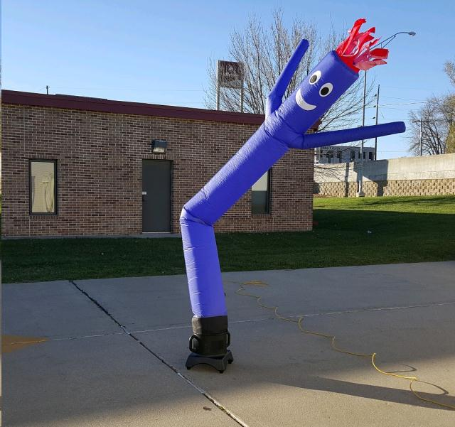 Where to find AIR DANCER, 10 FT BLUE in Omaha