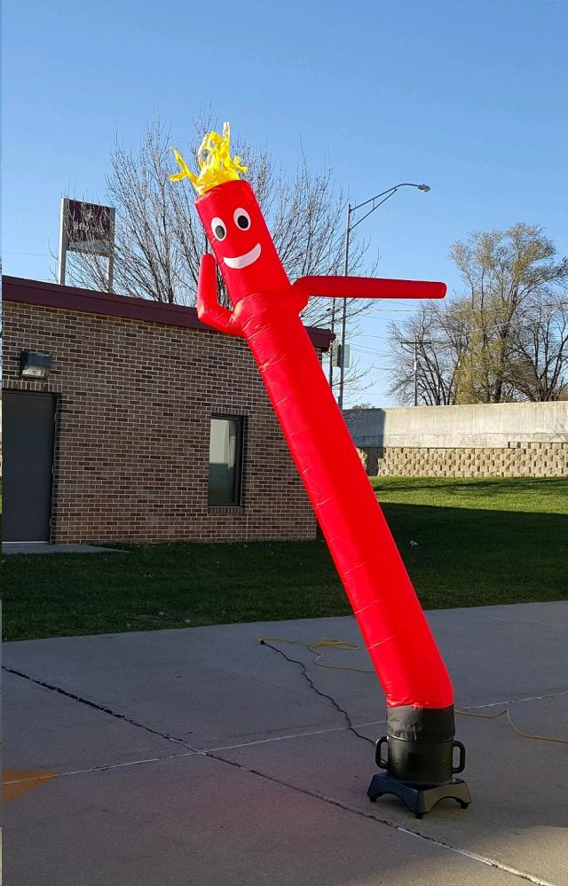 Where to find AIR DANCER, 10 FT RED in Omaha