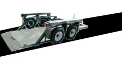 Where to rent TRAILER, HYD-DROPDECK DBL AX-72 X10  HD in Omaha NE