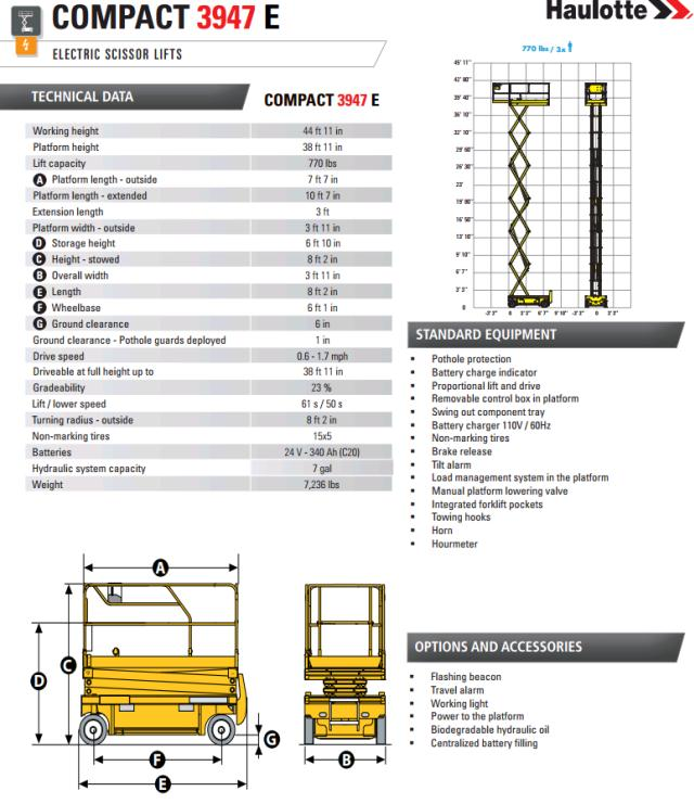 Where to find SCISSOR LIFT 39 47   3947  INDOOR in Omaha