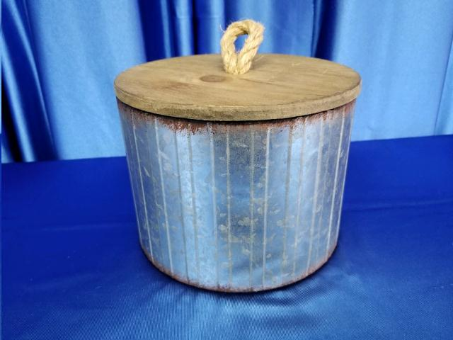 Where to find BUCKET, RUSTIC W LID in Omaha