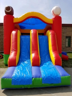 Where to rent SPORTS BOUNCE, Dual Slide in Omaha NE