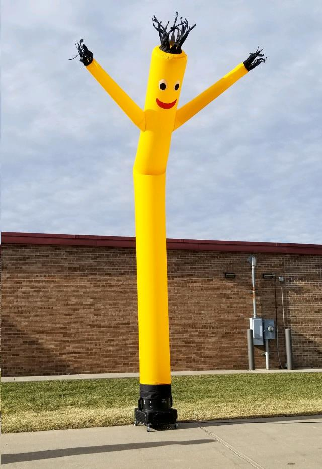 Where to find AIR DANCER, 20 FT YELLOW in Omaha