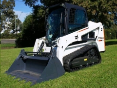 Rental store for SKID-STEER LOADER, T450 W RUBBER TRACKS in Omaha NE