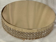 Rental store for CAKE STAND, Gold Sparkle 15.5  Rd in Omaha NE