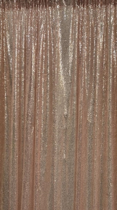 Rental store for DRAPE, ROSE GOLD SEQUIN 8 Ft in Omaha NE