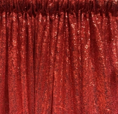 Rental store for DRAPE, RED SEQUIN 8 Ft in Omaha NE