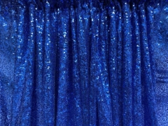 Rental store for DRAPE, ROYAL BLUE SEQUIN 8 Ft in Omaha NE