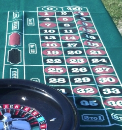 Rental store for ROULETTE TABLE WHEEL  SET in Omaha NE