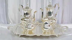 Where to rent COFFEE SERVICE, 5-PC SILVER in Omaha NE