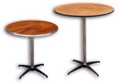 Where to rent TABLE, ROUND 30  - WOOD in Omaha NE