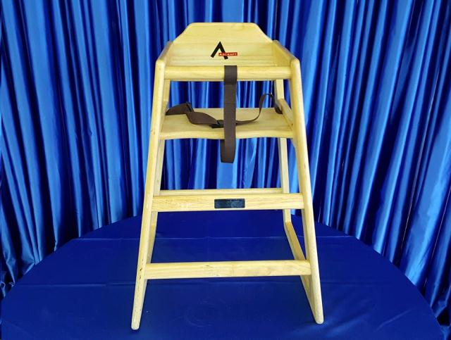 Where to find CHILD HIGH CHAIR  Wood in Omaha