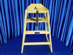 Where to rent HIGH CHAIR    WOOD in Omaha NE